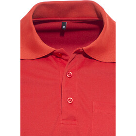 axant Alps - Polo manches courtes homme - rouge